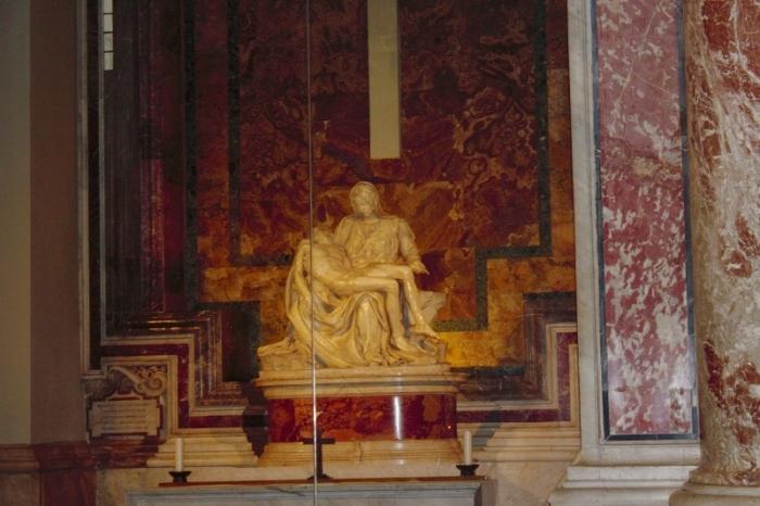 Michaelangelo's Pieta, 1499