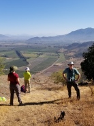 Chile Puente Negro Foothills Hiking