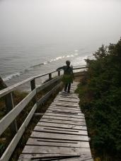 Johanna in the mist